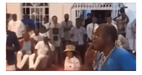 VIDEO: Pastor asks member to smoke weed during service