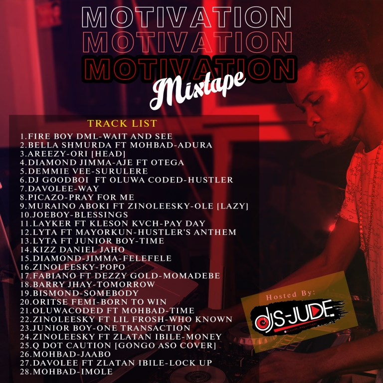 "Dj S-Jude ""Motivation Mixtape"""