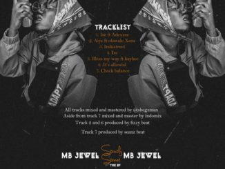 MB Jewel - Strictly Street [The EP]