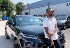 Nigerian Showbiz & Sports Promoter Olamide Baron acquires a 50Million Naira Worth Range Rover Velar